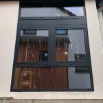 Aluminium Fenster Von Schco Farbe Anthrazit Grau Baustelle In Mit Eingebauten Rolladen Online Konfigurieren Bodentief Rc3 Zwangsbelüftung Nachrüsten Fenster Schüco Fenster Online