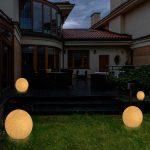 Kugelleuchten Garten Bauhaus Kugelleuchte Amazon Obi 3er Set Led Kugellampen Solar Strom Test Maxcraft Gartenlampe 40 Cm Naturstein Optik Ausziehtisch Garten Kugelleuchten Garten