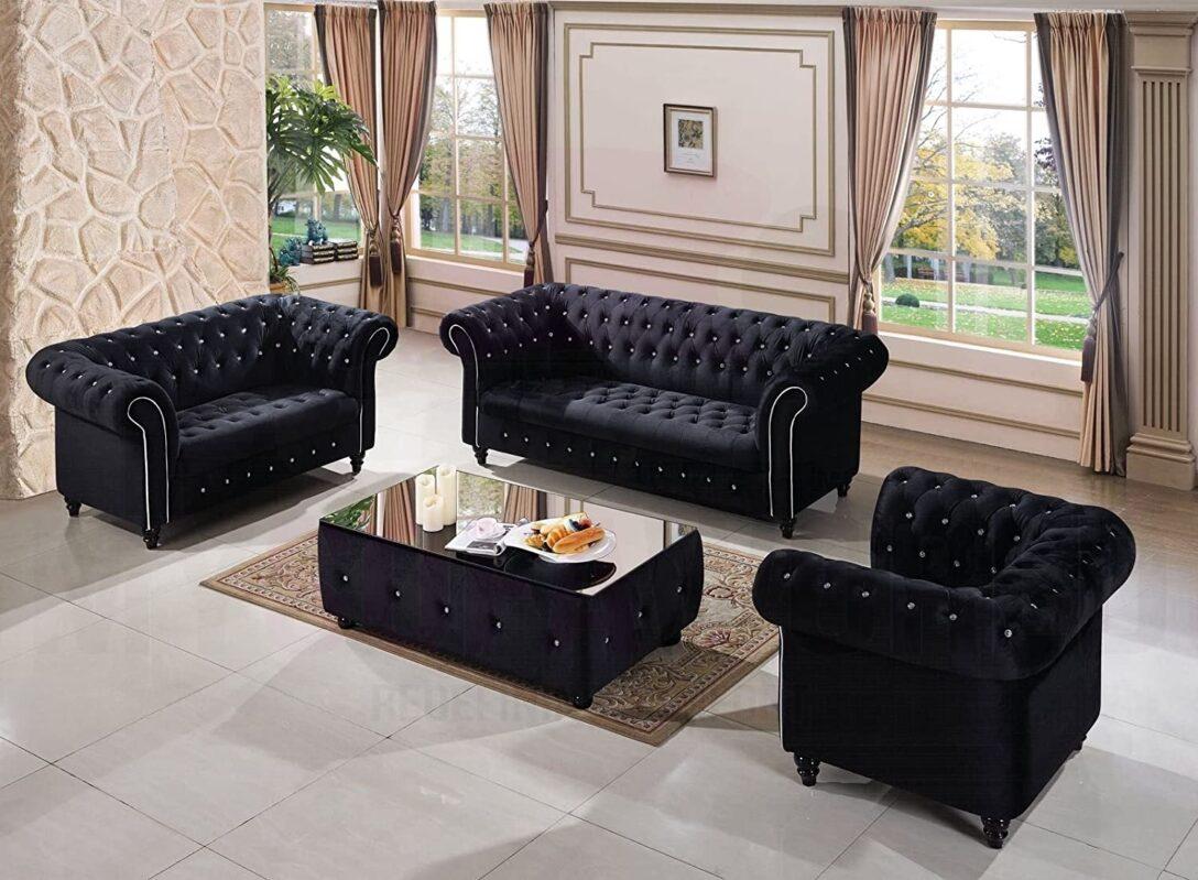 Large Size of Amazonde Kensington Handgefertigtes Chesterfieldsofa 3 2 1 Big Sofa Grau L Mit Schlaffunktion Recamiere Sitzer Relaxfunktion Weiß Xxl Günstig Cognac Sofa Türkische Sofa