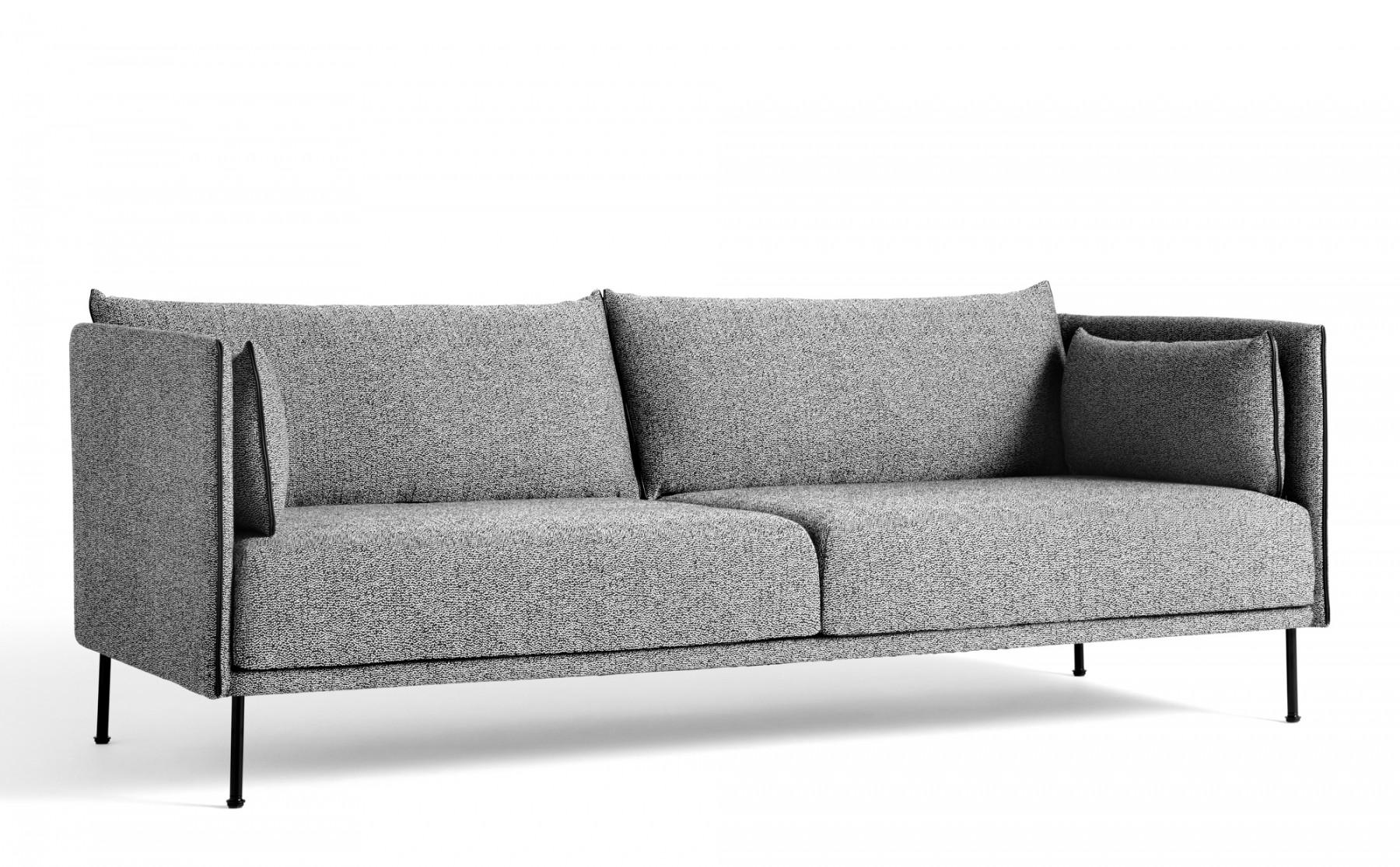 Full Size of 3 Sitzer Sofa Mit Schlaffunktion Leder Und Bettkasten Ikea Grau Nockeby Rot Bettfunktion Couch 2 Sessel Silhouette Mono Version Hay Einrichten Designde 1 Home Sofa 3 Sitzer Sofa