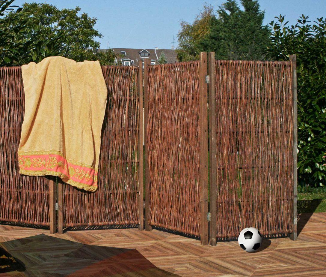 Large Size of Paravent Garten Wetterfest Holz Obi Ikea Bambus Hornbach Standfest Toom Metall Aus Weiden 240 120 Cm Holzundgartende Zaun Sichtschutz Wpc Schallschutz Garten Paravent Garten