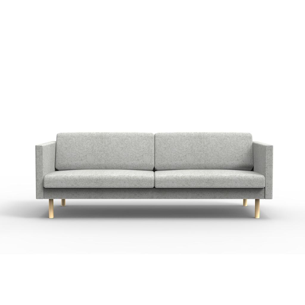 Full Size of 3er Sofa Leaf Im Skandinavischen Design Jetzt Online Kaufen Sitzsack Landhausstil Weißes Big Poco Heimkino Reinigen Günstig Garnitur 2 Teilig Petrol Inhofer Sofa 3er Sofa
