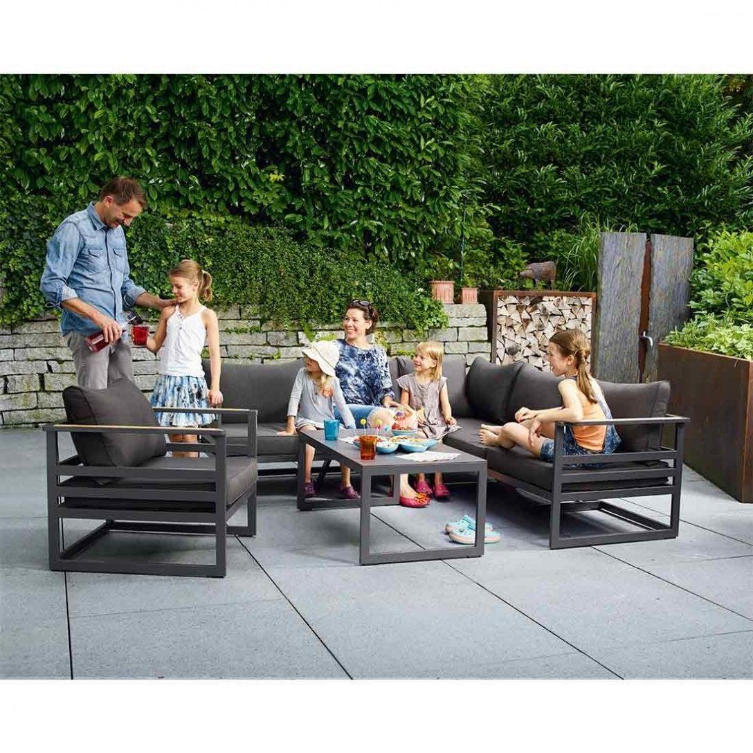 Large Size of Sieger Sydney Loungeecke 3 Teilig Aluminium Sunproof Garten Und Truhenbank Sonnenschutz Holzhaus Lounge Sessel Loungemöbel Spielhaus Holz Rattanmöbel Garten Loungemöbel Garten
