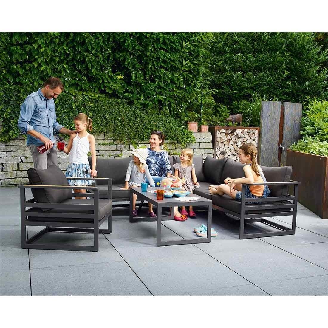 Full Size of Sieger Sydney Loungeecke 3 Teilig Aluminium Sunproof Garten Und Truhenbank Sonnenschutz Holzhaus Lounge Sessel Loungemöbel Spielhaus Holz Rattanmöbel Garten Loungemöbel Garten