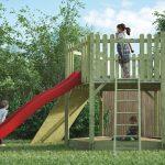 Spielturm Garten Garten Spielanlage Vorbereitete Elemente Erweiterbar Spielturm Garten Wasserbrunnen Lounge Set Hängesessel Möbel Klapptisch Liegestuhl Heizstrahler Relaxliege
