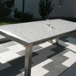 Garten Tisch Linus Grande Granit Gartentisch Alpgranit Beistelltisch Bewässerungssysteme Designer Esstisch Fußballtore Schreibtisch Regal Esstische Garten Garten Tisch