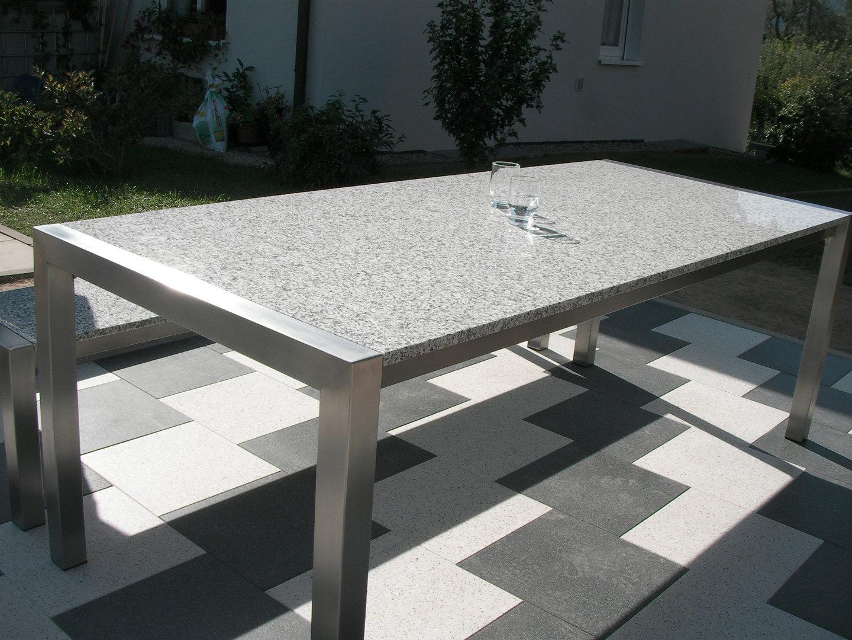 Full Size of Garten Tisch Linus Grande Granit Gartentisch Alpgranit Beistelltisch Bewässerungssysteme Designer Esstisch Fußballtore Schreibtisch Regal Esstische Garten Garten Tisch