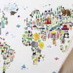 Tapeten Kinderzimmer Kreativ Im Selbst Gestalten Lunamagde Regal Wohnzimmer Ideen Für Die Küche Sofa Fototapeten Schlafzimmer Regale Weiß Kinderzimmer Tapeten Kinderzimmer