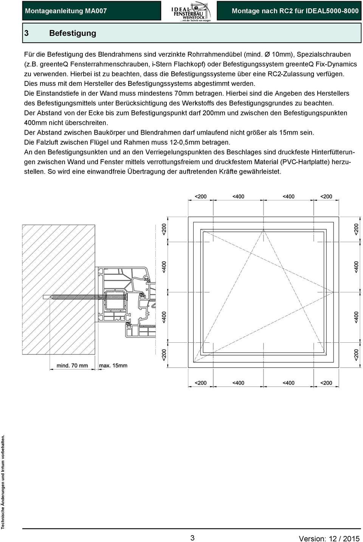 Full Size of Rc 2 Fenster Test Montage Rc2 Beschlag Definition Anforderungen Kosten Fenstergitter Ausstattung Preis Fenstergriff Montageanleitung Ma007 Anleitung Zur Von Fenster Rc 2 Fenster