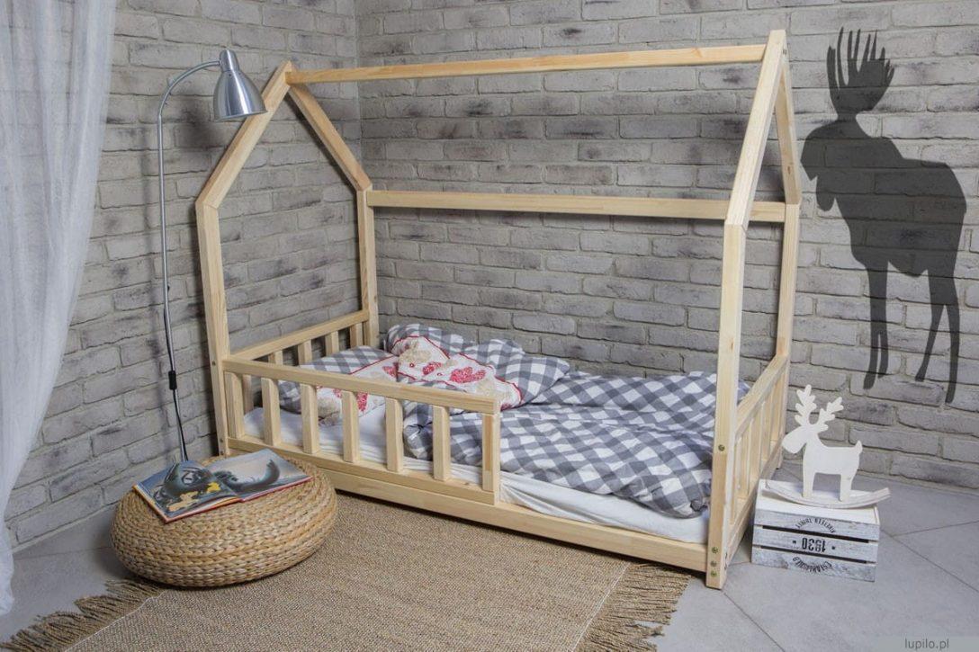 Large Size of Bett Haus Mit Abnehmbaren Barrieren 160x80 Cm Lupilo Ka Matratze Sofa Bettfunktion Paradies Betten Dormiente 90x190 180x200 Bettkasten Hülsta Boxspring Bett Bett 190x90