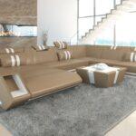 Luxus Sofa Sofa Luxus Sofa Leder Wohnlandschaft Apollonia In Xxl Auch Mit Bettfunktion Rund Polster Grau 2er Büffelleder Modernes Höffner Big Englisches Kissen U Form