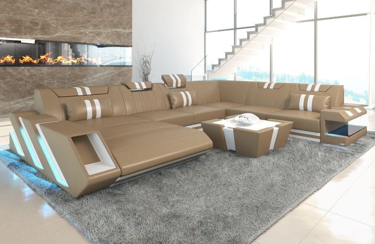 Full Size of Luxus Sofa Leder Wohnlandschaft Apollonia In Xxl Auch Mit Bettfunktion Rund Polster Grau 2er Büffelleder Modernes Höffner Big Englisches Kissen U Form Sofa Luxus Sofa