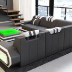 Luxus Sofa Ragusa Couch In L Form Als Modernes Ecksofa Leder Liege Mit Schlaffunktion Federkern Polster Kleines Dreisitzer Bunt Ebay Brühl Hülsta Sofa Luxus Sofa