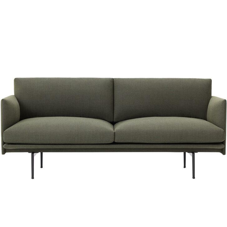 Medium Size of Outline Sofa 2 Sitzer Von Muuto Connoshop U Form Xxl Tom Tailor Schillig Rattan überwurf 3er Grau Kleines Wohnzimmer Kunstleder Flexform Impressionen Antik Sofa Sofa Grün