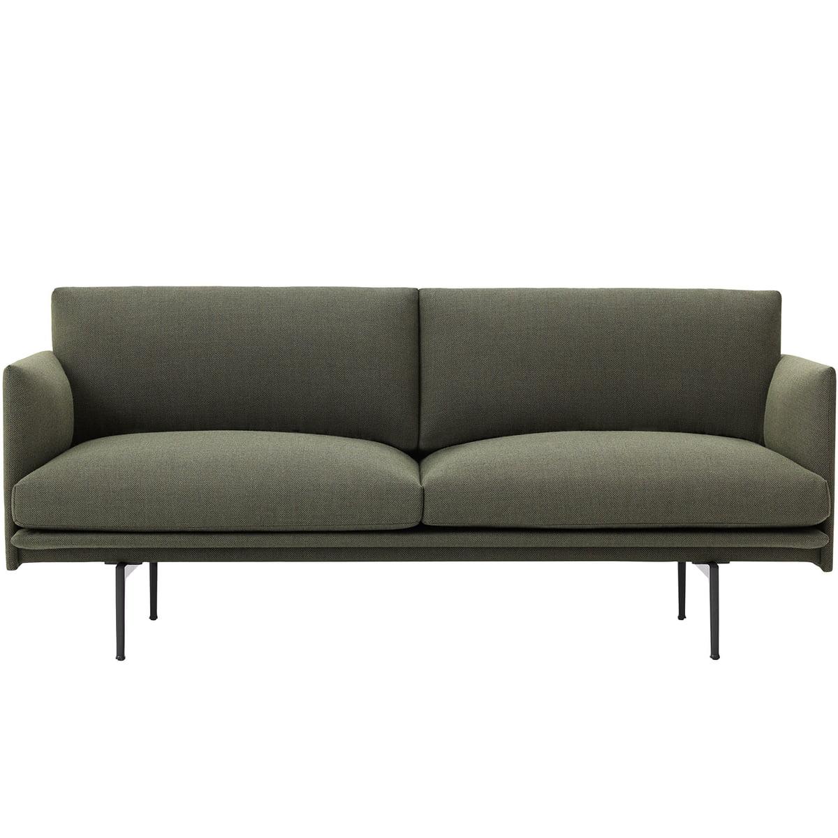Full Size of Outline Sofa 2 Sitzer Von Muuto Connoshop U Form Xxl Tom Tailor Schillig Rattan überwurf 3er Grau Kleines Wohnzimmer Kunstleder Flexform Impressionen Antik Sofa Sofa Grün