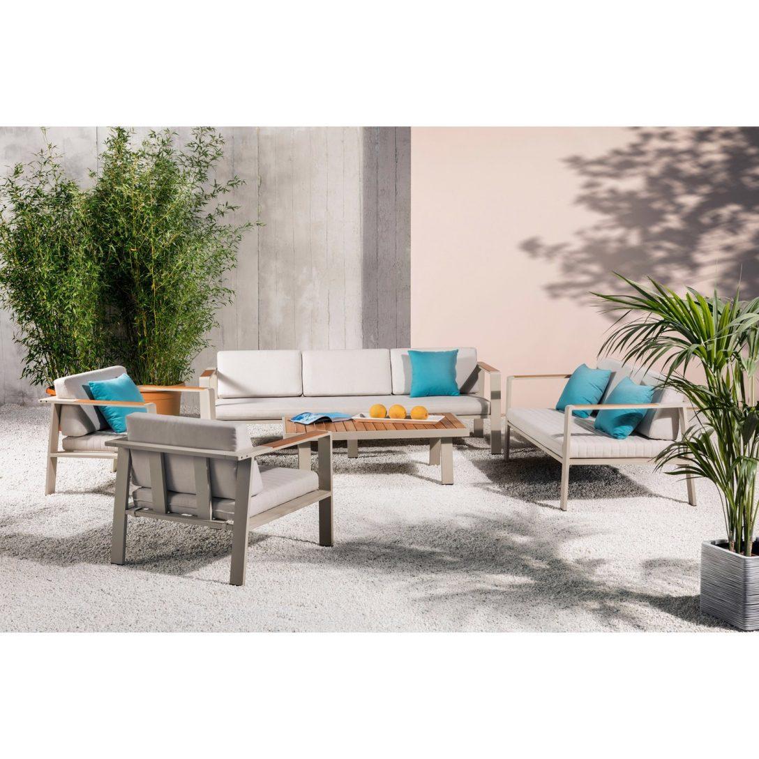 Garten Loungemöbel Holz Lounge Gruppe North Valley Alu Olefin 5 Teilig Spielhaus Kunststoff Esstisch Massivholz Ausziehbar Bewässerung Automatisch Pool Im