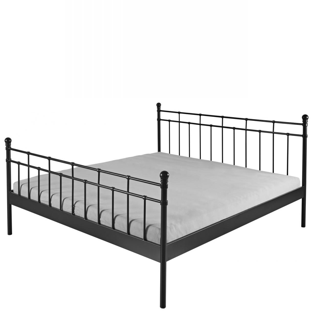 Full Size of Bett 1 40x2 00 Doppelbett Verena Metall Schwarz 140x200 Gstebett Schlafzimmer 120x200 Mit Matratze Und Lattenrost Hohes Hasena Betten 140 X 200 Sofa 3 2 Sitzer Bett Bett 1 40x2 00