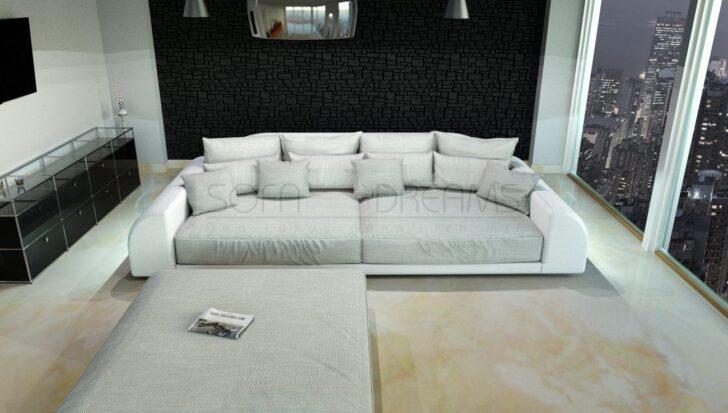 Medium Size of Big Sofa Weiß Couch Mit Hocker Stoff Petrol Wk Online Kaufen 3 Sitzer Weißes Schlafzimmer Küche Matt Abnehmbarer Bezug Chesterfield Leder U Form Sofa Big Sofa Weiß