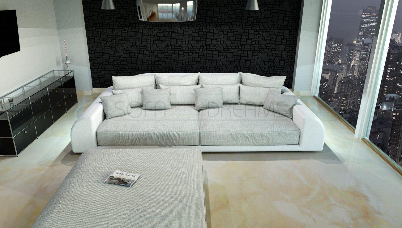 Full Size of Big Sofa Weiß Couch Mit Hocker Stoff Petrol Wk Online Kaufen 3 Sitzer Weißes Schlafzimmer Küche Matt Abnehmbarer Bezug Chesterfield Leder U Form Sofa Big Sofa Weiß