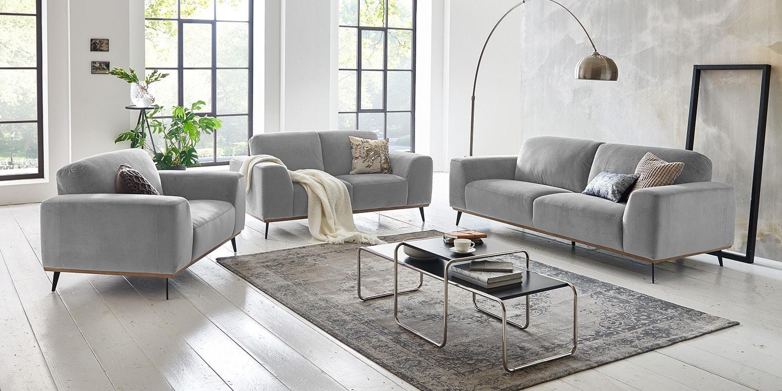 Full Size of Couchgarnitur 3 2 1 Sitzer Chesterfield Sofa Emma Samt Big Emma 3 2 1 Sitzer Superior Skandinavisches Design Couch Grau Samtstoff Muuto Big Mit Hocker Home Sofa Sofa 3 2 1 Sitzer