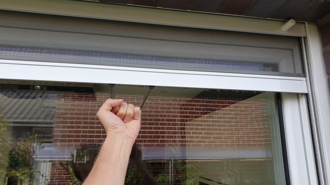 Large Size of Fliegengitter Fenster Integrierter Insektenschutz Als Rollo Und Dänische Einbruchschutz Nachrüsten Sicherheitsfolie Sonnenschutzfolie Innen Folie Rc 2 Fenster Fliegennetz Fenster