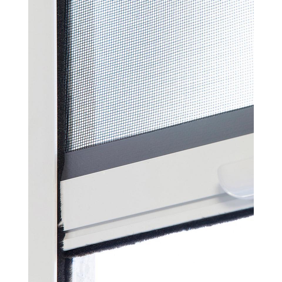 Full Size of Fliegengitter Fenster Befestigen Fliegennetz Kaufen Bauhaus Obi Dm Rollo Anbringen Magnet Tesa Fliegenrollo In 130x160 Cm Insektenschutz Wei Einbruchsicher Fenster Fliegennetz Fenster