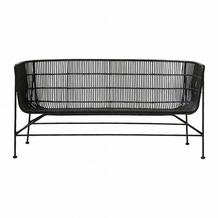 Rattan Sofa Cushions Replacements Vintage For Sale Uk Sectional Indoor Set Beds Corner House Doctor Bench Black Living And Co Grünes Xxl Günstig Kissen Big Sofa Rattan Sofa