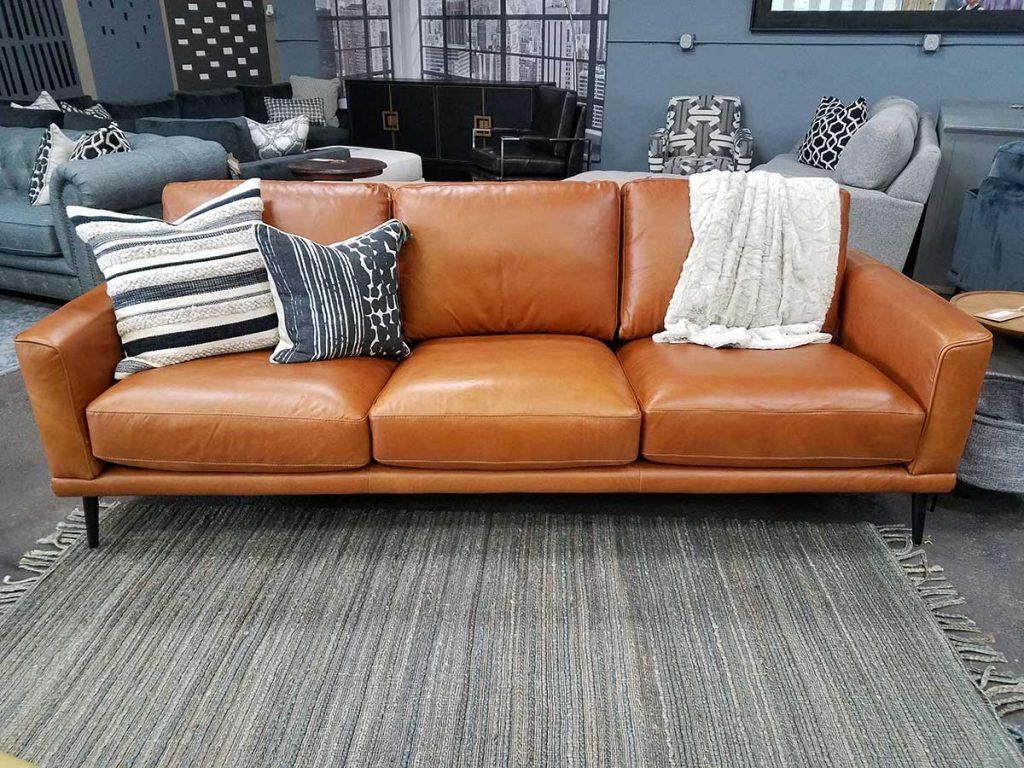 Full Size of Sofa Cognac Leather Furniture Outfitters Natura Halbrund Alcantara 2 Sitzer Mit Relaxfunktion Hussen Schillig Lila Impressionen Verkaufen Sitzsack Kare Mega Sofa Sofa Cognac