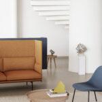 Muuto Sofa Sofa Anderssen Voll Designs Muutos First Ever High Back Sofa Weißes Blaues Delife Mit Relaxfunktion Elektrisch Holzfüßen Leinen 3 2 1 Sitzer Kissen Led Garnitur