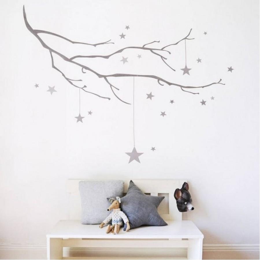 Full Size of Stellar Zweig Sticker Sofa Kinderzimmer Regal Weiß Regale Kinderzimmer Wandaufkleber Kinderzimmer