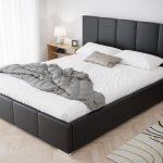Modernes Bett Bett Modernes Bett 200x200 Bettgestell 140x200 Bettsofa 180x200 Mit Stauraum Schlafbett Doppelbett Polsterbett Lattenrost 160x200 Kopfteil Selber Machen Weiß