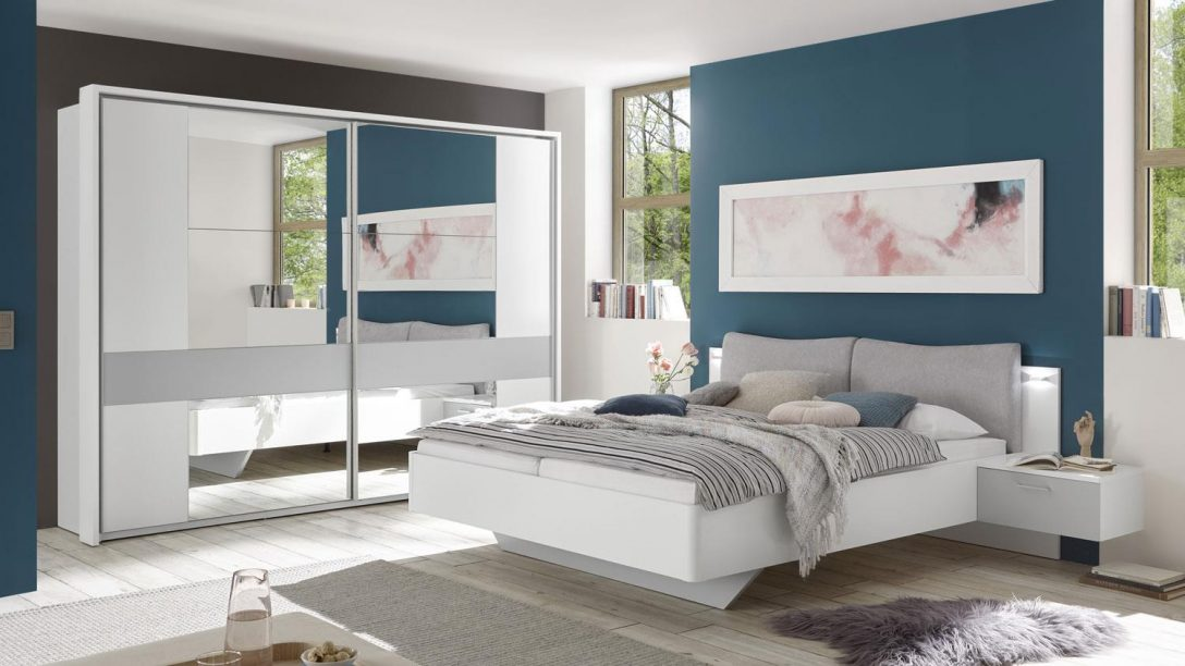 Large Size of Graues Bett Schlafzimmer Set Bristol 2 Tlg Wei Grau Schrank Kolonialstil Weißes 90x200 Schöne Betten Weiß 140x200 Mit Unterbett 120x200 Stauraum Bett Graues Bett