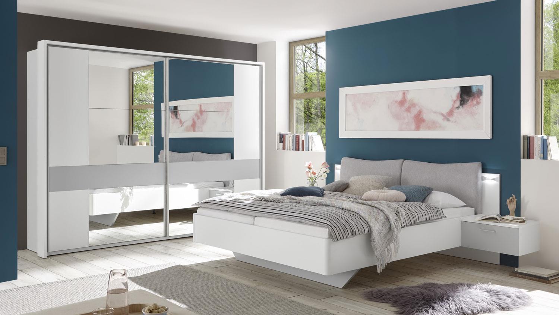 Full Size of Graues Bett Schlafzimmer Set Bristol 2 Tlg Wei Grau Schrank Kolonialstil Weißes 90x200 Schöne Betten Weiß 140x200 Mit Unterbett 120x200 Stauraum Bett Graues Bett