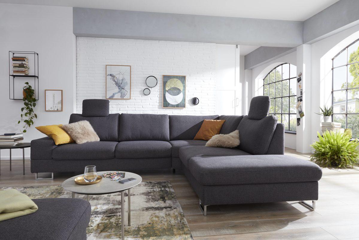 Full Size of Sofa Stoff Grau Meliert Chesterfield Ikea Kaufen Sofas Gebraucht Reinigen Big Couch Graues Schlaffunktion 3er Grober Grauer Interliving Serie 4302 Sofa Sofa Stoff Grau