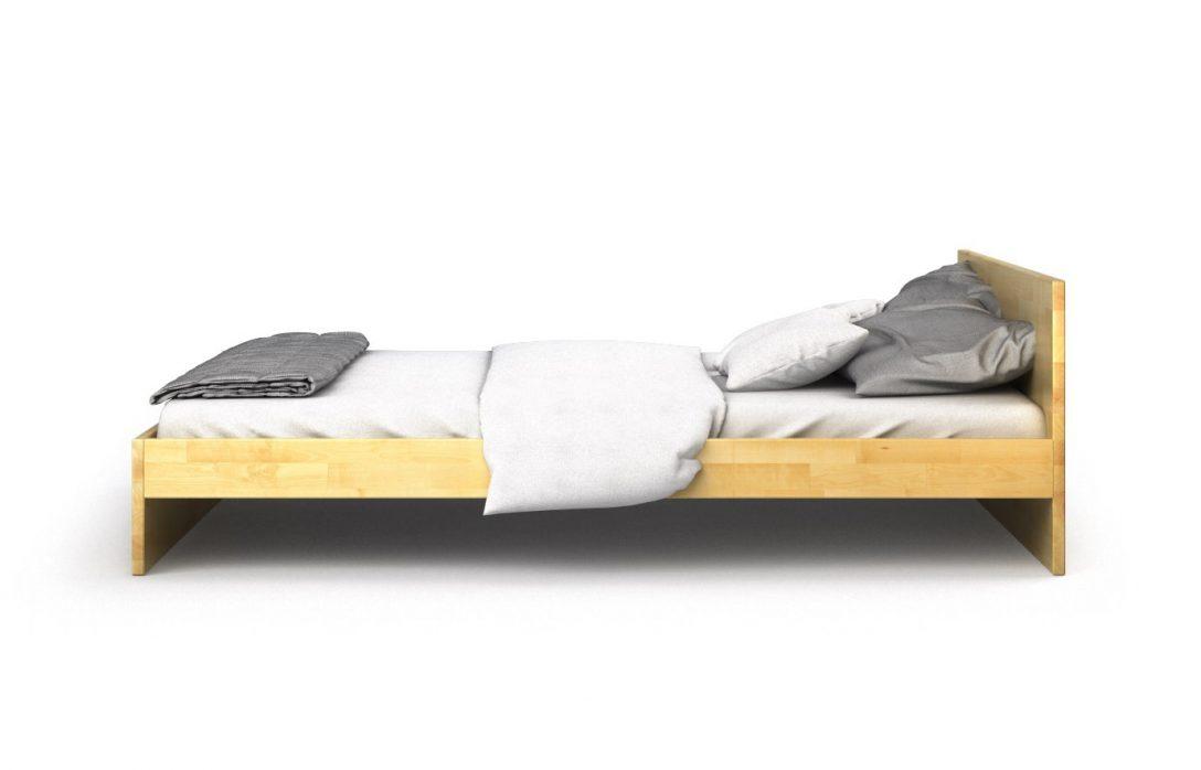 Large Size of Bett Schlicht Naxos In Birke Massiv Even Better Clinique Weiße Betten Boxspring Landhausstil Rauch 140x200 Oschmann Baza 160 180x200 Massivholz Günstig Bett Bett Schlicht