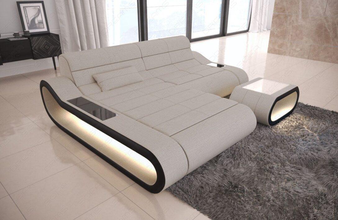 Large Size of Sofa Mit Beziehen Kosten Lassen Stoff Led Beleuchtung Und Lautsprecher Dreams Couch Concept In L Form Lampen Tür Dusche Verstellbarer Sitztiefe Altes Sofa Sofa Mit Led