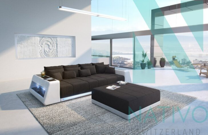 Medium Size of Sofa Mit Led Big Beleuchtung Couch Leder Beziehen Lassen Ledersofa Poco Kosten Und Lautsprecher Gebraucht Bettfunktion Ohne Lehne Spannbezug Grau Weiß Sofa Sofa Mit Led