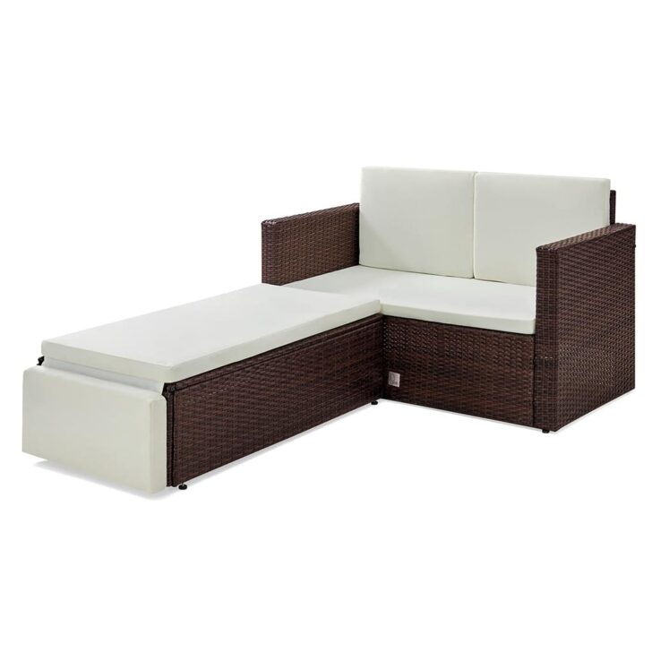 Medium Size of Polyrattan Sofa Couch Ausziehbar Set Garden Lounge Rattan Outdoor Grau Svita Libby 2 Sitzer Gartenmbel R Real 3 Luxus Rahaus Höffner Big Online Kaufen Hülsta Sofa Polyrattan Sofa