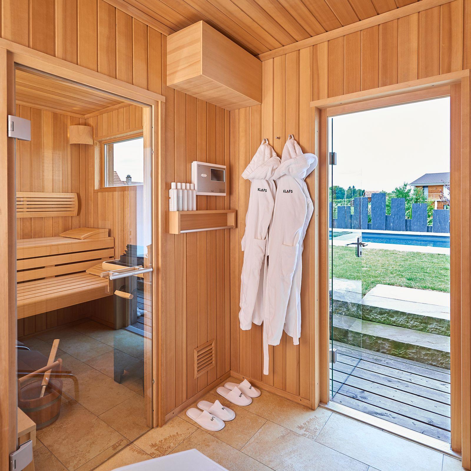 Full Size of Garten Sauna Aussensauna Talo Von Christina Obergfll Klafs Schaukel Für Gaskamin Bewässerung Automatisch Rattanmöbel Klapptisch Relaxliege Pool Im Bauen Garten Garten Sauna