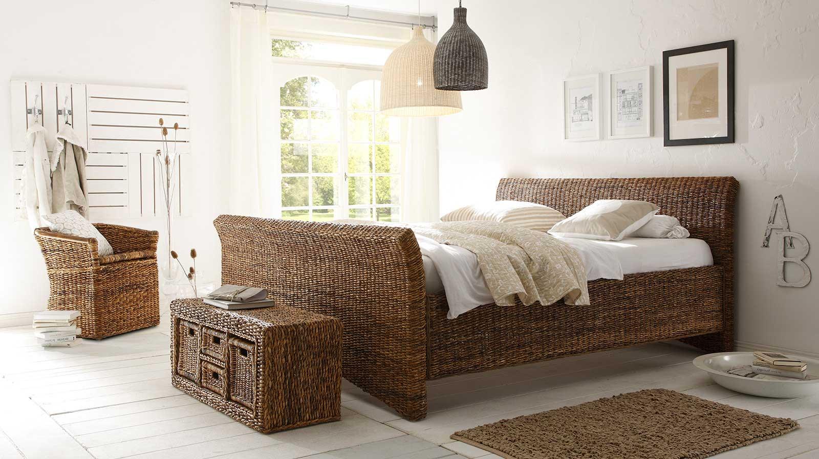 Full Size of Rattan Bett Mit Rattanmbel Einrichten Leicht Betten Für übergewichtige Stauraum Grau Paletten 140x200 Ikea 160x200 Bettkasten Bette Duschwanne Schlafzimmer Bett Rattan Bett