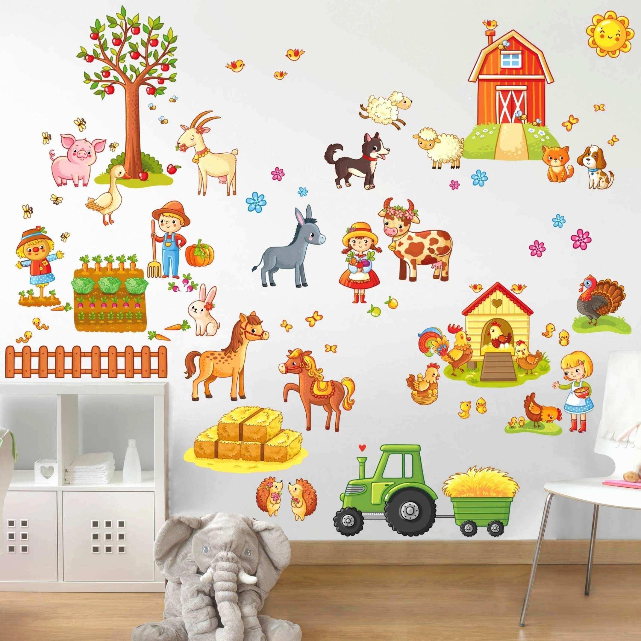 Full Size of 59 Inspirierend Wandtattoo Tiere Kinderzimmer Frisch Tolles Regal Sofa Regale Weiß Kinderzimmer Wandaufkleber Kinderzimmer