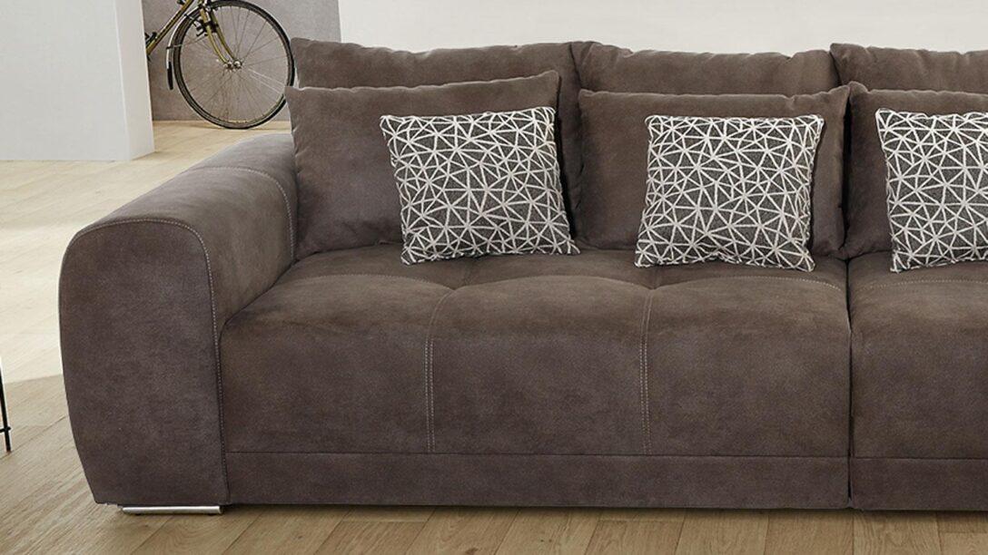Large Size of Big Sofa Braun Moldau Xxl Couch In Microfaser Mit Kissen Arten Antik Chippendale Samt Schlaffunktion Schlafsofa Liegefläche 180x200 Delife Xora L Impressionen Sofa Big Sofa Braun