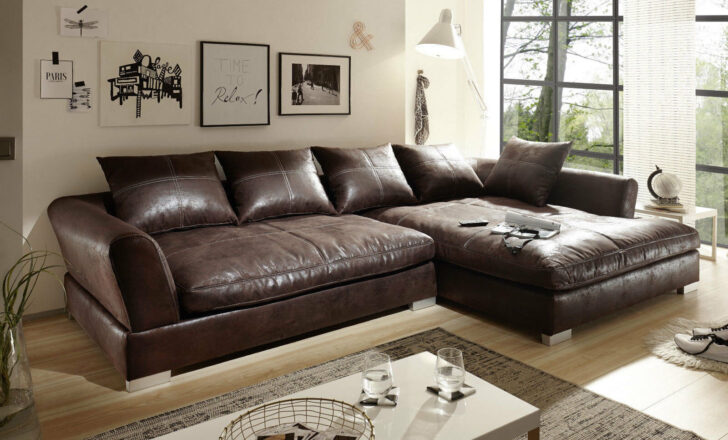 Medium Size of Design Couchgarnitur Braun Sofa K Leder Eck Wohnlandschaft L Mit Schlaffunktion Poco Big Petrol Kolonialstil Hay Mags Inhofer 3 Sitzer Relaxfunktion In Form Sofa Big Sofa Braun
