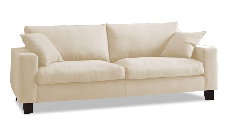 Full Size of Sofa 3 Sitz Dima In Einem Baumwoll Leinen Gemisch Stoff Shadow Garnitur Schillig Hocker Home Affair Xora Xxl Grau Landhausstil Hannover Ikea Mit Schlaffunktion Sofa Leinen Sofa