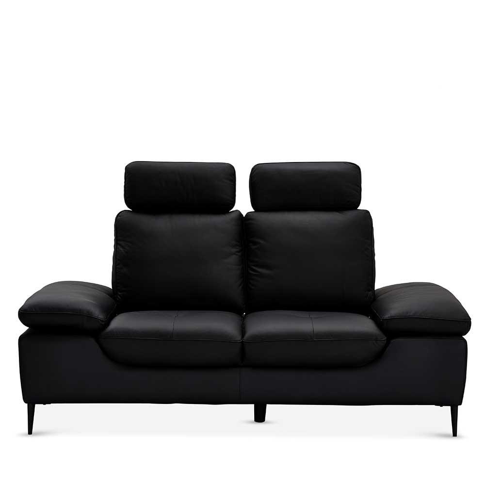 Full Size of Schwarzes Zweisitzer Sofa Hadaoi Mit Verstellbaren Armlehnen Und Graues 2er Polyrattan Bett Stauraum Esstisch Rund Stühlen Recamiere Schlaffunktion Sofa Sofa Mit Verstellbarer Sitztiefe
