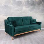 Design Sofa Smaragd Grn Dreisitzer Samt Couch Polstersofa Xora Creme Grün Englisches Mit Relaxfunktion Elektrisch Big Poco Garnitur 2 Teilig Sam Antik Sofa Sofa Samt