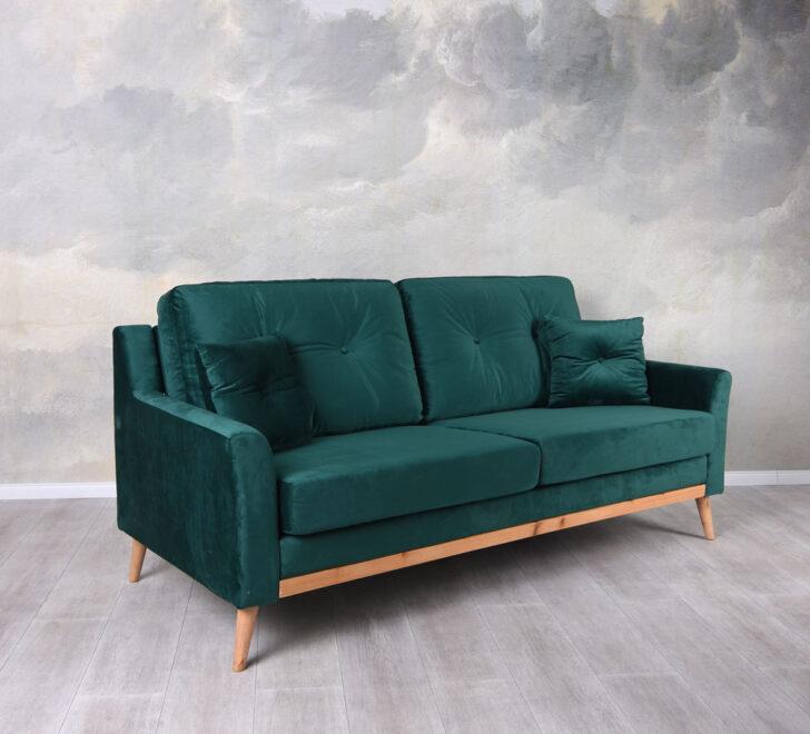 Medium Size of Design Sofa Smaragd Grn Dreisitzer Samt Couch Polstersofa Xora Creme Grün Englisches Mit Relaxfunktion Elektrisch Big Poco Garnitur 2 Teilig Sam Antik Sofa Sofa Samt