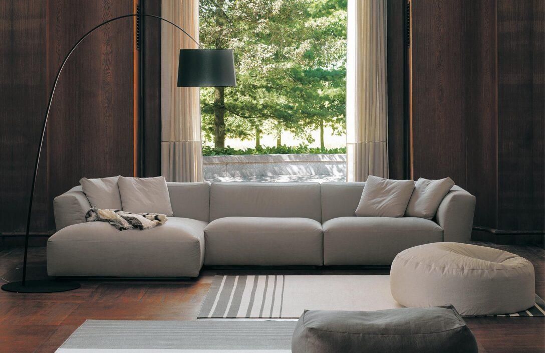 Modernes Sofa In Grau Bogenlampe Ecksofa Grauesso Erpo Rolf Benz Ottomane Stoff Billig Spannbezug Vitra Kunstleder Schilling Ausziehbar Riess Ambiente Türkis