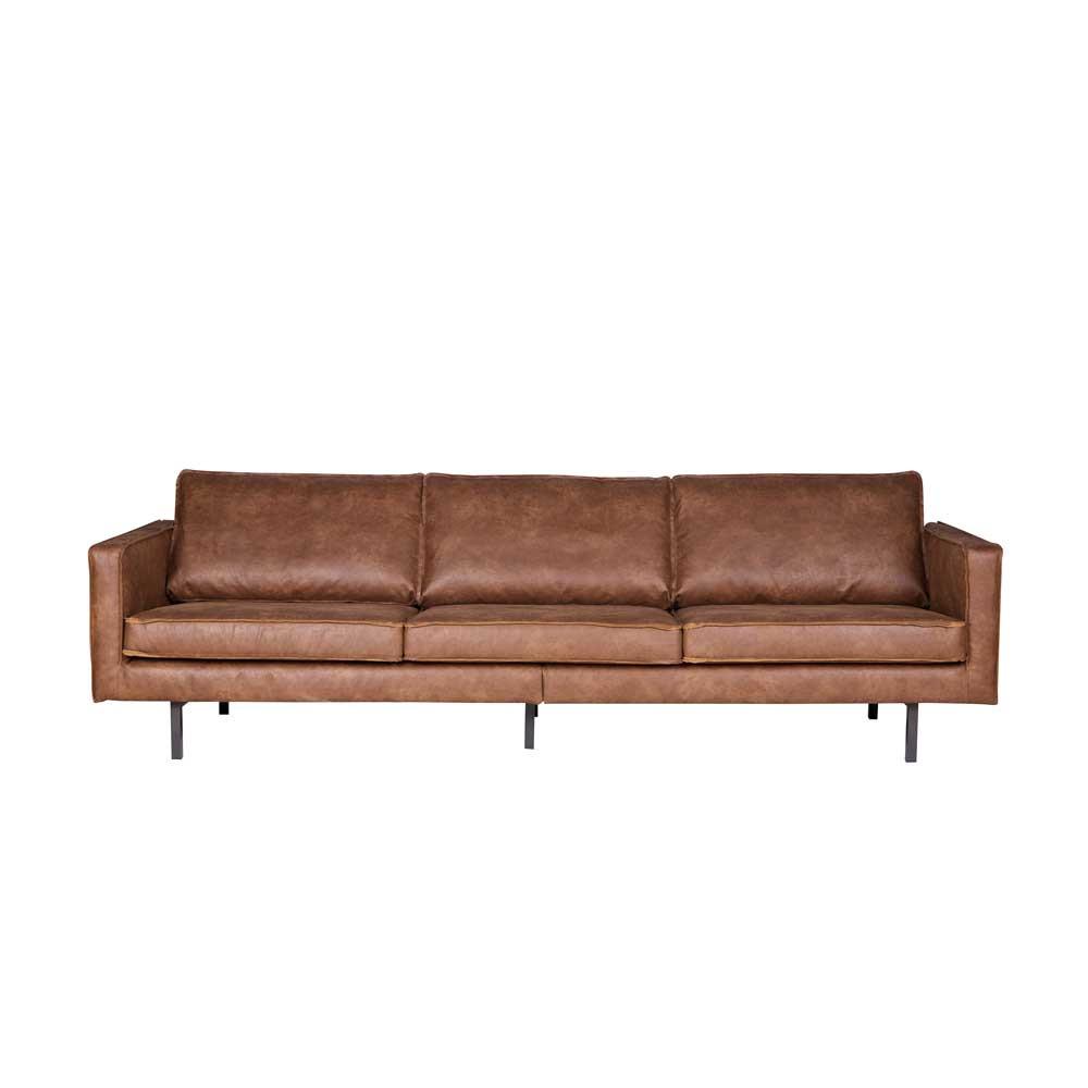Full Size of Sofa Cognac 3 Sitzer Couch Monty Aus Recyceltem Leder Wohnende 2 Mit Relaxfunktion Hersteller Mega München Ottomane Polsterreiniger Wohnlandschaft Sofa Sofa Cognac
