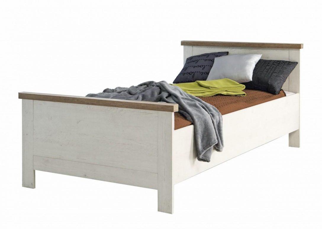 Large Size of Bett Antik Einzelbett Duro 100 200 Cm Im Optik Pinie Wei Ebay 200x200 Weiß Mit Gepolstertem Kopfteil Rückenlehne Prinzessin Wohnwert Betten Bett Bett Antik